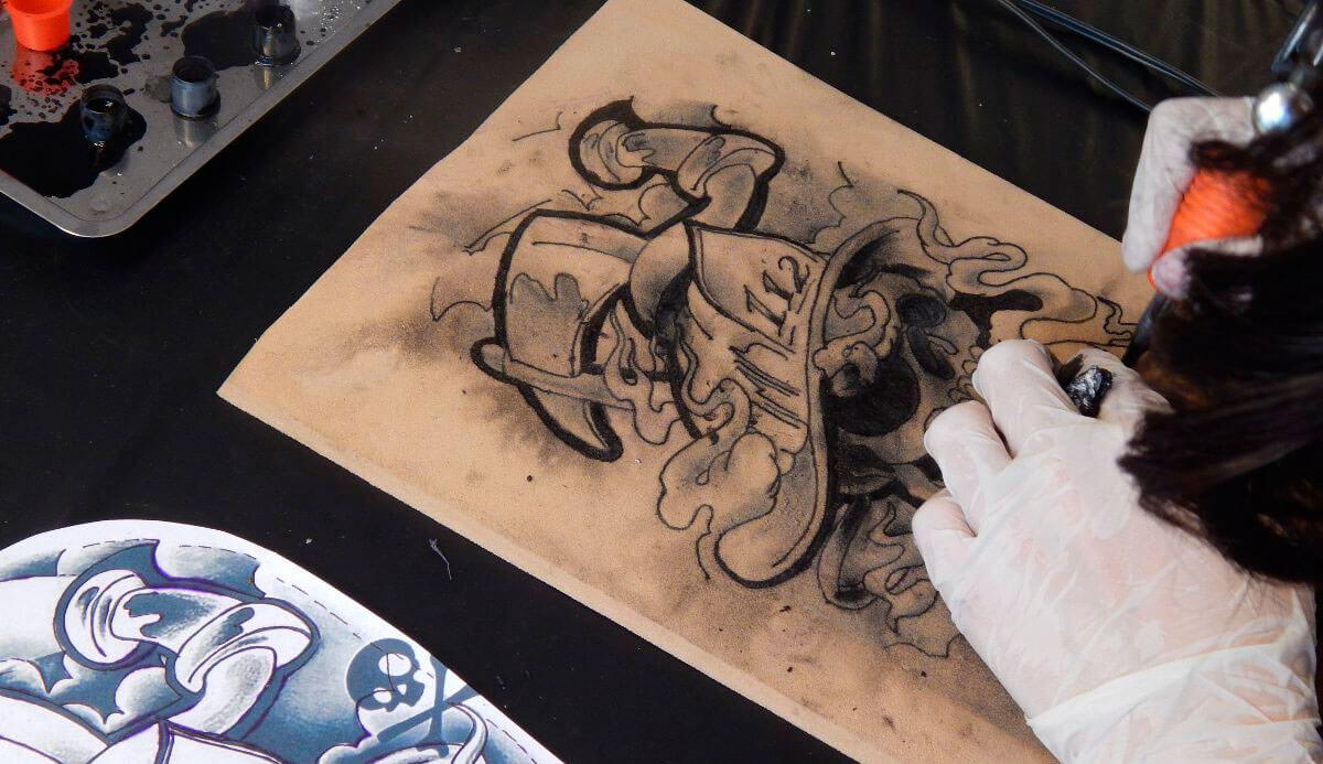 Tatuajes Cursos curso tatuaje básico - tatuador profesional