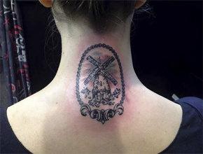 Tatuaje molino