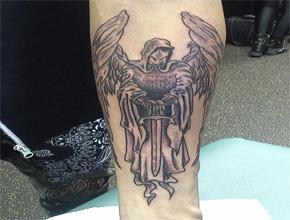 Tatuaje templario