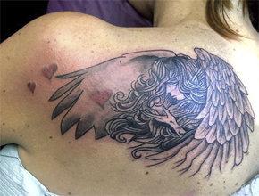 Tatuaje ángel